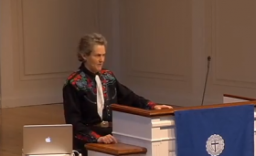 Temple Grandin at Gordon College