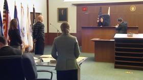 A veterans court in Boston opened Thursday.