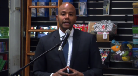 Peniel Joseph at Harvard Book Store