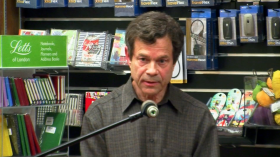 Alan Lightman at Harvard Book Store
