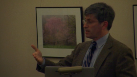 Carl Zimmer at Arnold Arboretum