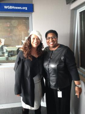 Debbie Allen and Callie Crossley