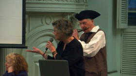Susan Wilson at Old South Meeting House