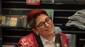 Annalee Newitz at Harvard Book Store