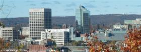 The Worcester skyline.