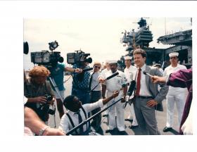 James Webb as secretary of the Navy.