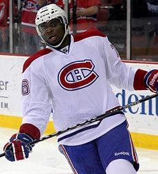 PK Subban, Montreal Canadien, drew racist tweets from Bruins fans in Game One of the playoff series.