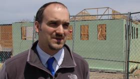 Town Manager Evan Brassard