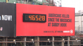 The founder of Stop Handgun Violence talks about finding a new home for his anti-gun billboard.