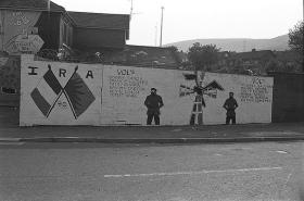 A Republican mural in Belfast.