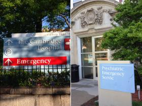 The two emergency rooms at Cambridge Hospital.