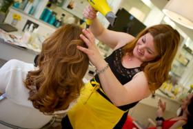 At Drybar on Clarendon Street in Boston, the salon offers only one thing: blowouts.