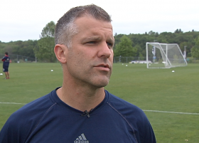 New England Revolution Director of Youth Development Bryan Scales
