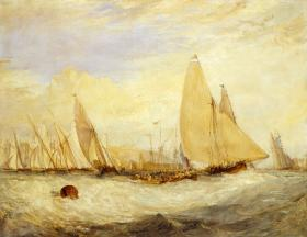 The Peabody Essex Museum has more than 100 works by the British master J.M.W. Turner.