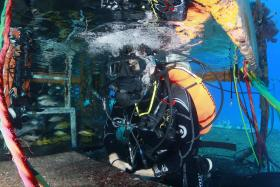 Fabien Cousteau recently completed a unique underwater mission that carried on his grandfather's legacy of ocean exploration.