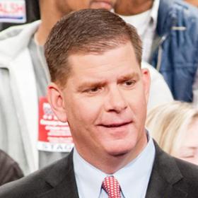Boston mayoral candidate Martin J. Walsh.