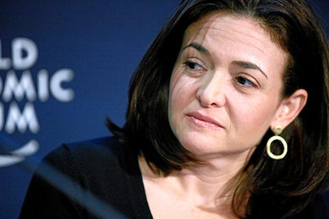 Sheryl Sandberg at the World Economic Forum 1/28/11, COO, Facebook, executive, leadership, women, female