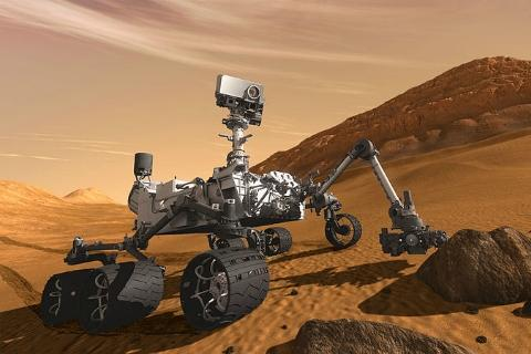 "The new Mars rover ""Curiosity"" is set to land on the red planet this Sunday night."