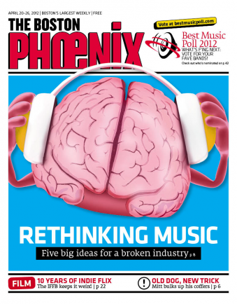 The Boston Phoenix of today, April 2012.
