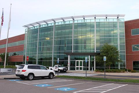 Sensata Technologies headquarters in Attleboro, Mass.