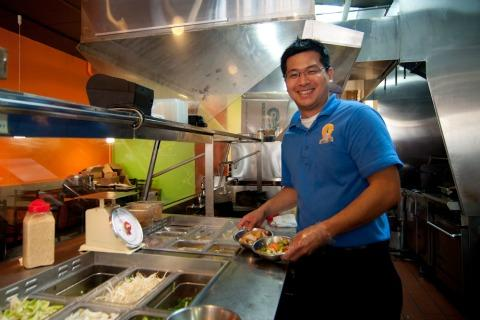 Nathan Long of Wok n' Talk