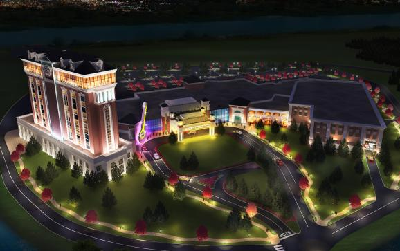 Rendering of the Hard Rock Hotel & Casino proposed for Springfield.