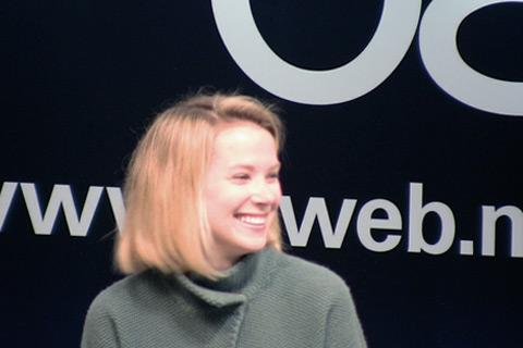 Marissa Mayer in 2008