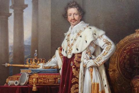 King Ludwig I of Bavaria, painted by Joseph Stieler