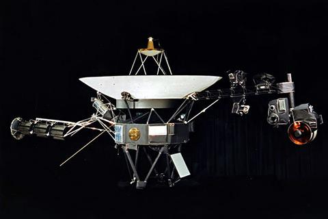 One of the two identical Voyager space probes.
