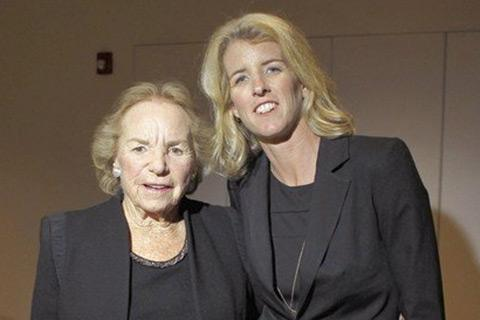 Ethel and Rory Kennedy