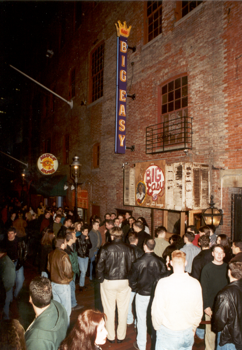 The Big Easy was a Lyons club in the Alley off of Boylston Street. This is where The Estate is now located