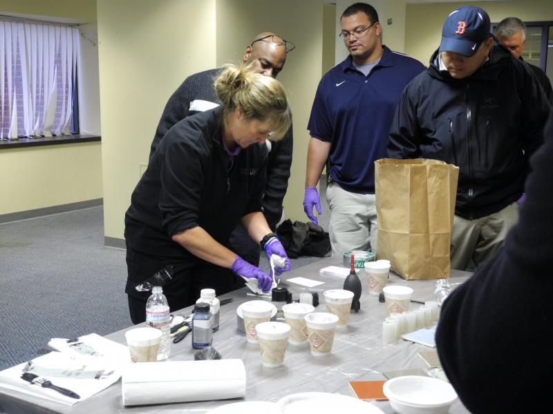 Forensic science workshop
