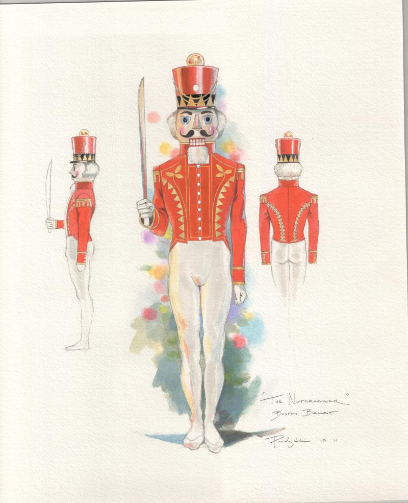 "Original ""Nutcracker"" sketch"