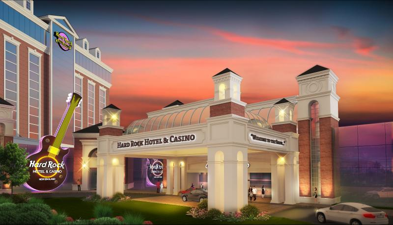 Rendering of a proposed Hard Rock Hotel & Casino in Springfield.