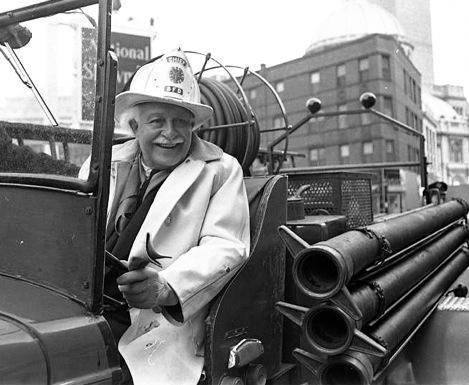 Arthur Fielder, longtime Boston Pops conducter.
