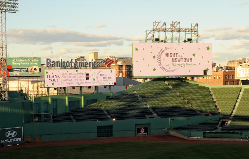 Night for Newtown at Fenway Park
