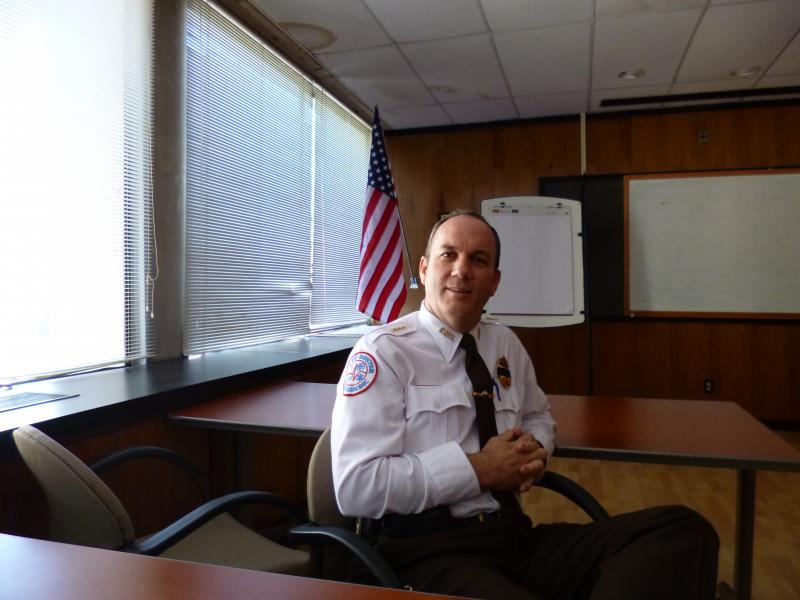 Brendan Kearney, Superintendent in Chief of the Boston Emergency Medical Services