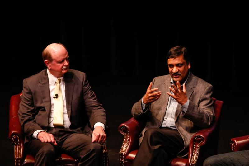 Richard Miller of Olin College talks with Anant Agarwal of edX on the future of college.