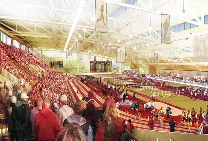 The sports complex would be one of the largest in Boston.