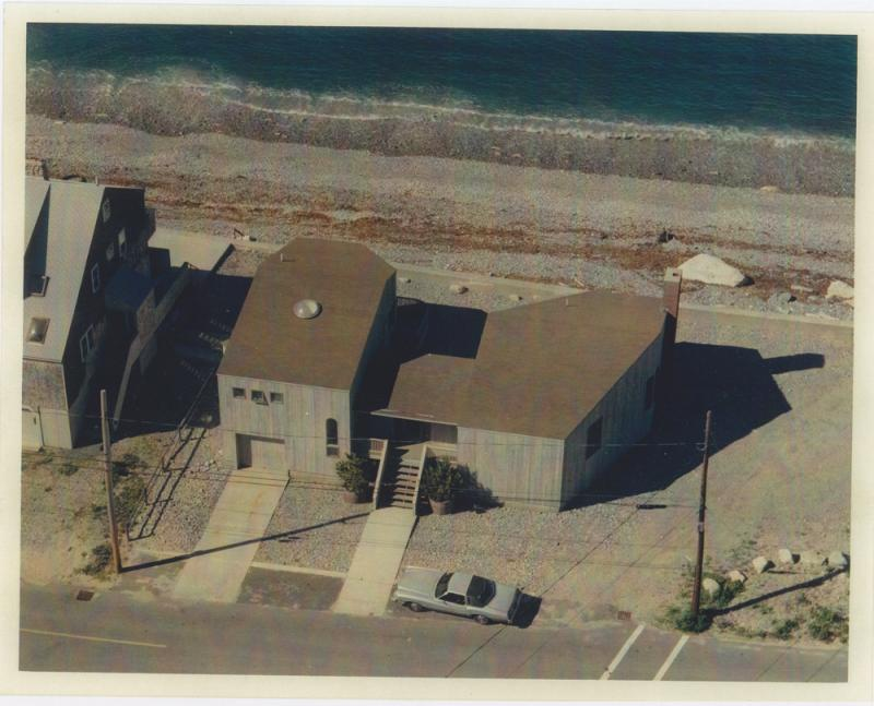48 Oceanside drive in the 1980s. Dr. David Cooney built the home after an earlier one was destroyed in the Blizzard of 1978.