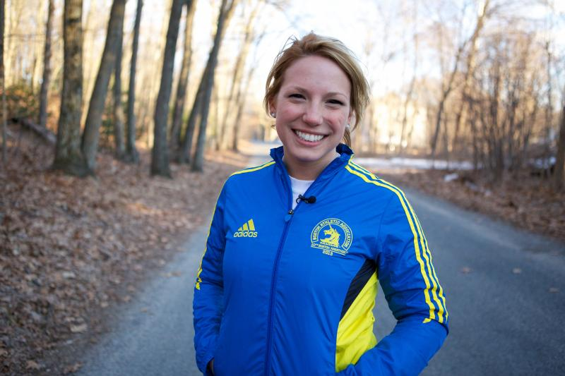Dianne Bacsik is a teacher who ran on the Dana-Farber Marathon team last year after learning that her mother had lung cancer. She was one of the 5,000 runners stopped before the finish line.