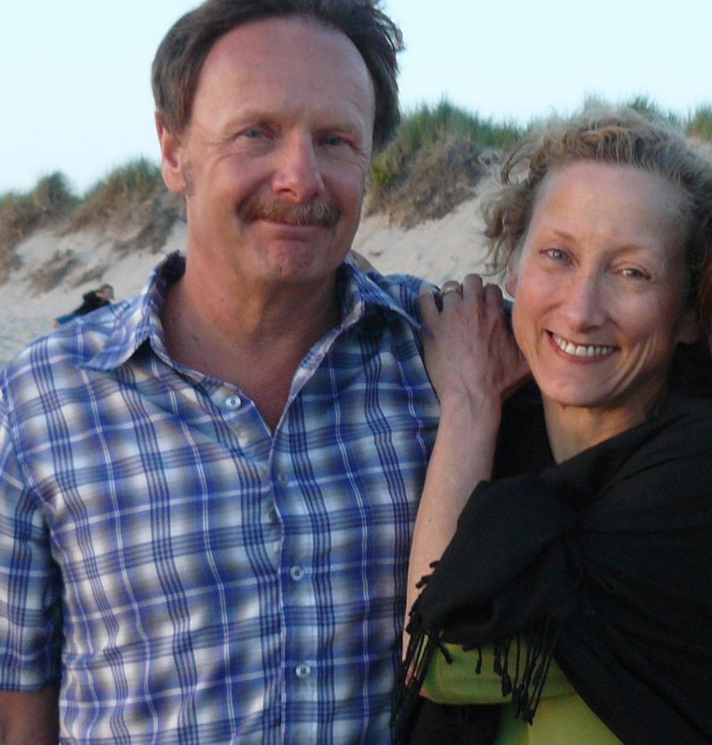Lincoln resident Rick Golay, left, died Oct. 14, 2013 at age 63. His wife, Lauren Sloat, right, sought for months to learn the cause of death from the Massachusetts Office of the Chief Medical Examiner.