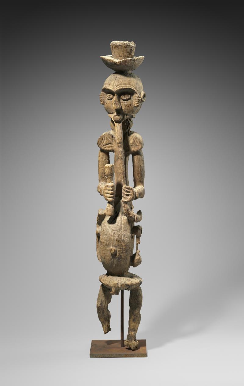 Oron Ancestral Figure (Ekpu); Oron peoples; southeastern Nigeria; wood