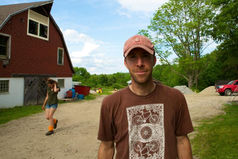 Nick Martinelli, a former attorney and current student at the Farm School