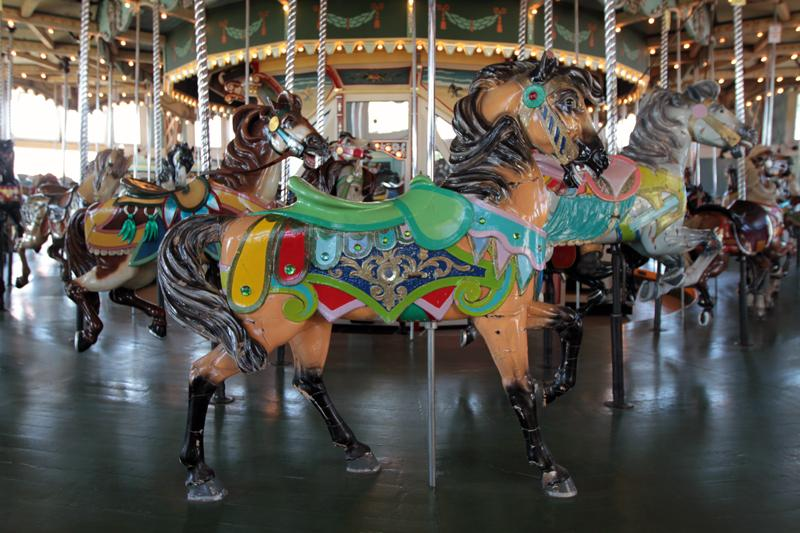 The Paragon Park Carousel in Hull.