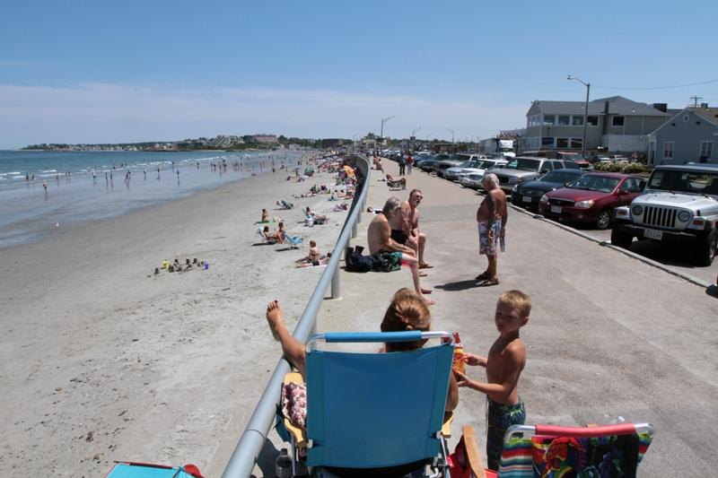 Nantasket Beach in Hull