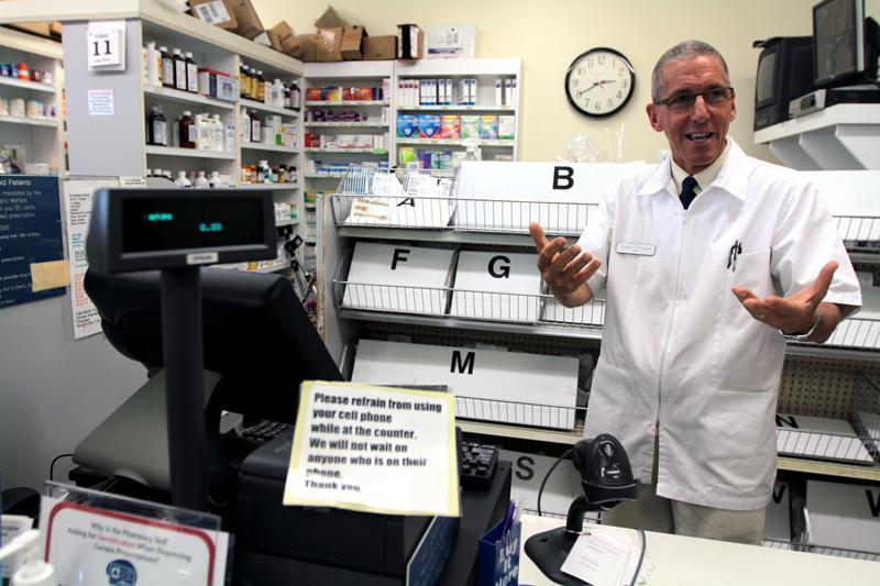 Pharmacist Rocky Tenaglia