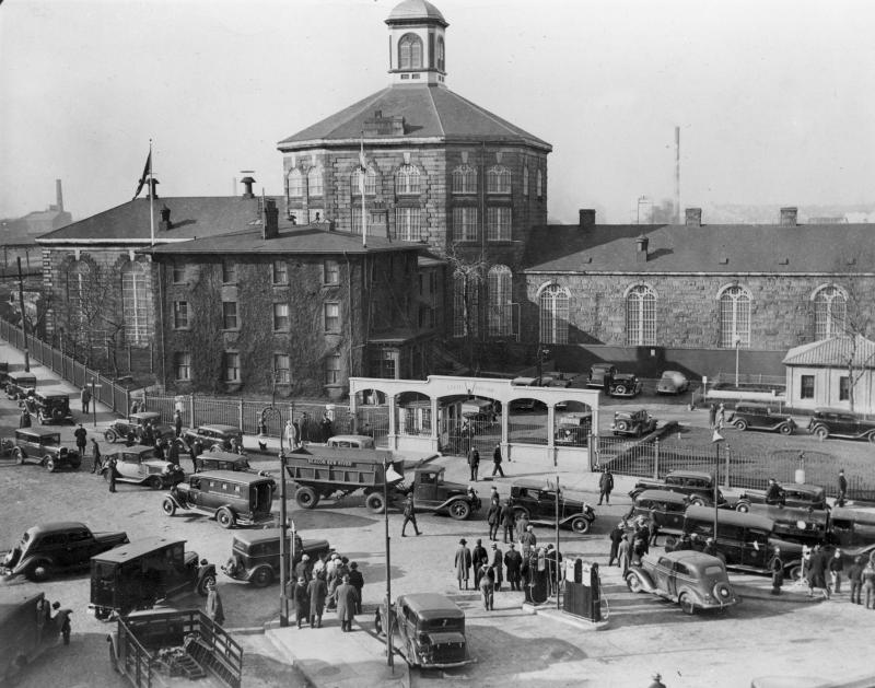 Charlestown State Prison is shown on July 25, 1944.