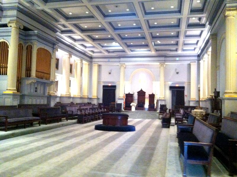 Another meeting hall in the Grand Lodge.