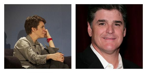 When we listen to Rachel Maddow or Sean Hannity, our political views become more extreme. How can we find common ground?